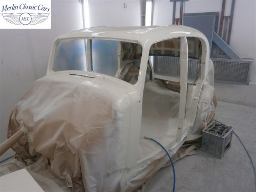 Jaguar SS Saloon Restoration 21