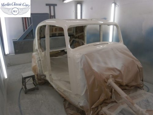 Jaguar SS Saloon Restoration 22