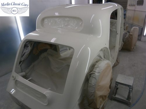Jaguar SS Saloon Restoration 24
