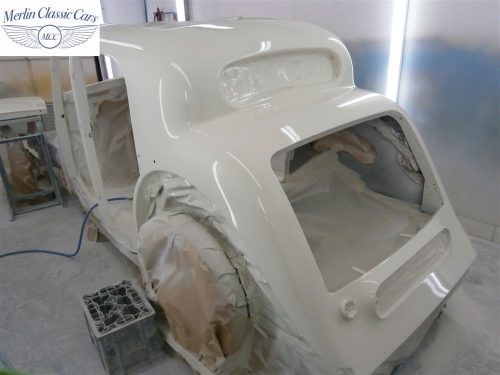 Jaguar SS Saloon Restoration 25