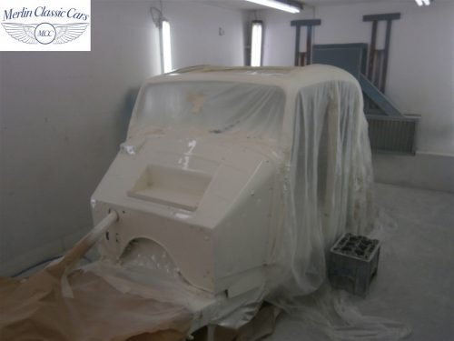 Jaguar SS Saloon Restoration 26