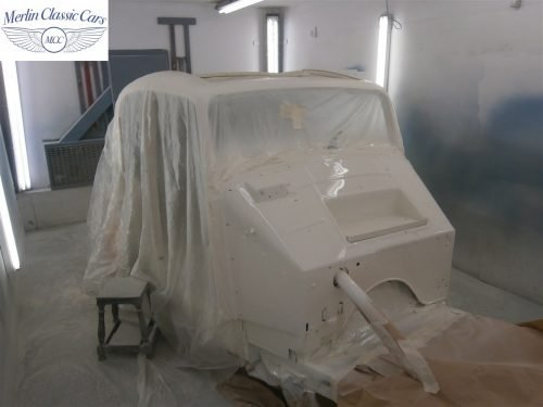 Jaguar SS Saloon Restoration 27