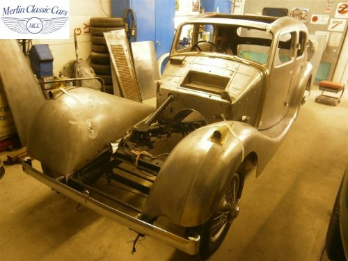 Jaguar SS Saloon Restoration 3