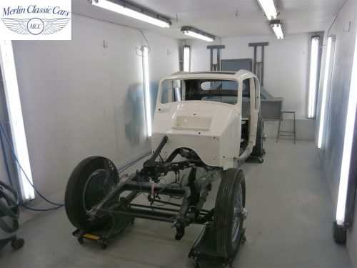 Jaguar SS Saloon Restoration 36