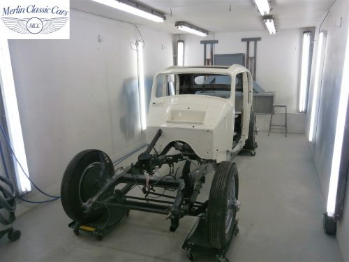 Jaguar SS Saloon Restoration 37
