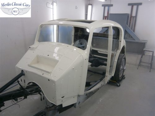 Jaguar SS Saloon Restoration 38