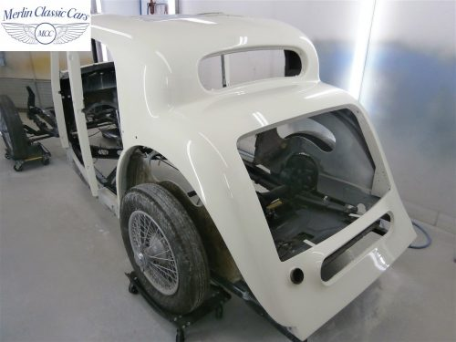 Jaguar SS Saloon Restoration 39
