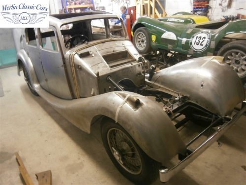 Jaguar SS Saloon Restoration 4