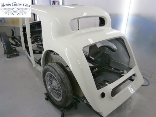 Jaguar SS Saloon Restoration 40