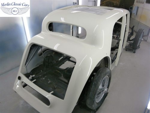 Jaguar SS Saloon Restoration 41