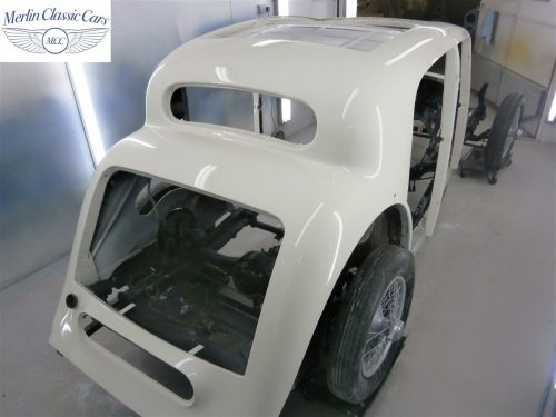 Jaguar SS Saloon Restoration 42