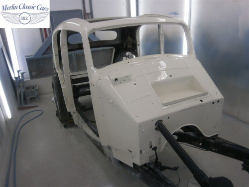 Jaguar SS Saloon Restoration 43