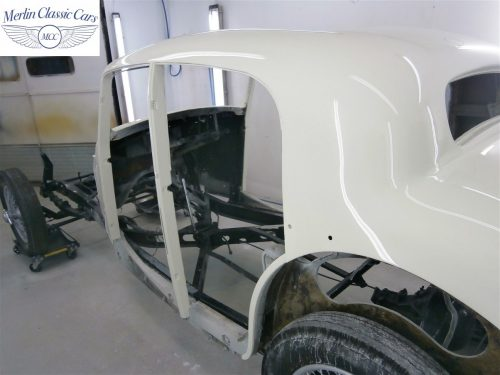 Jaguar SS Saloon Restoration 45