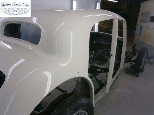 Jaguar SS Saloon Restoration 46