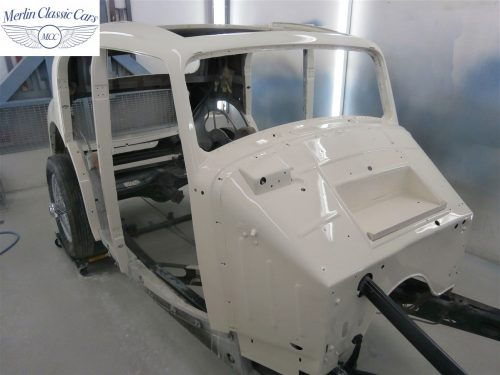 Jaguar SS Saloon Restoration 47