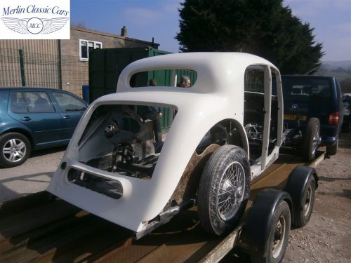 Jaguar SS Saloon Restoration 49