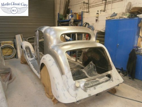 Jaguar SS Saloon Restoration 5