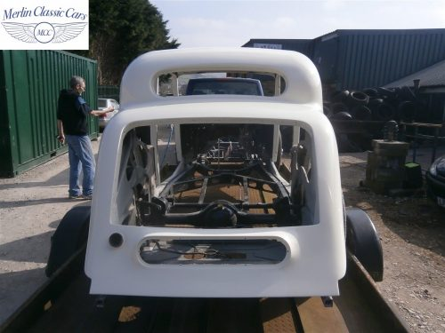 Jaguar SS Saloon Restoration 50