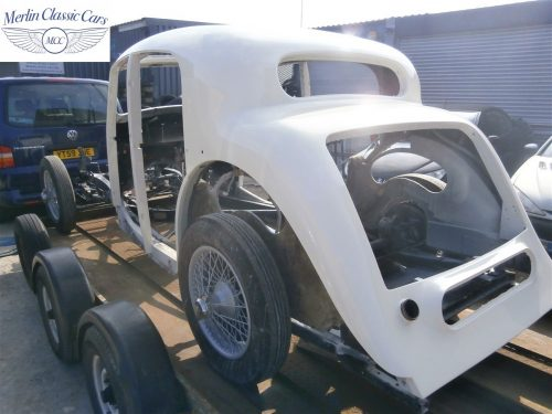Jaguar SS Saloon Restoration 51