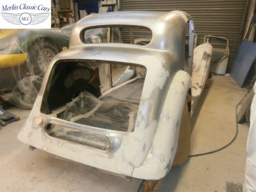 Jaguar SS Saloon Restoration 6