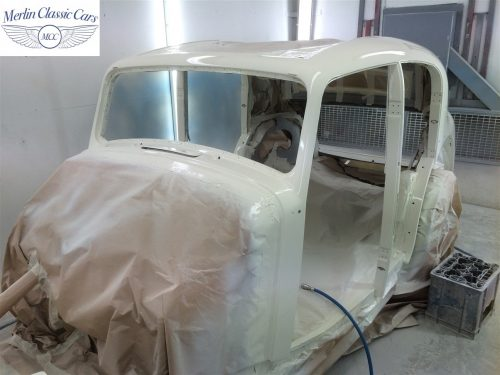 Jaguar SS Saloon Restoration 63