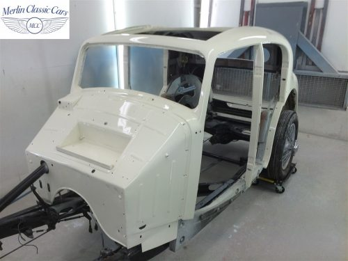 Jaguar SS Saloon Restoration 66