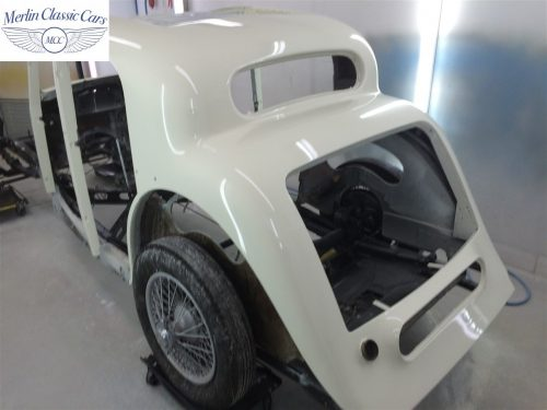 Jaguar SS Saloon Restoration 67