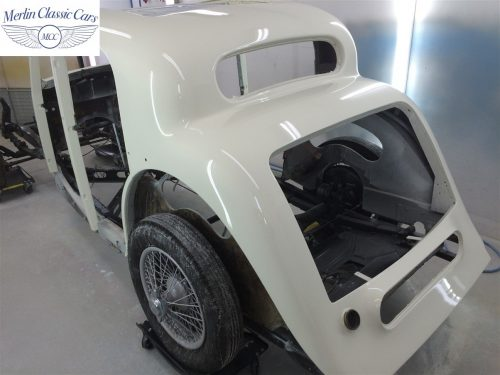Jaguar SS Saloon Restoration 68