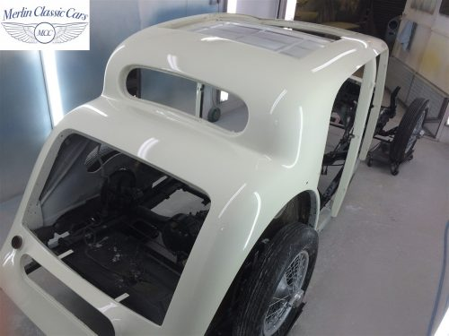 Jaguar SS Saloon Restoration 69