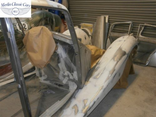 Jaguar SS Saloon Restoration 7