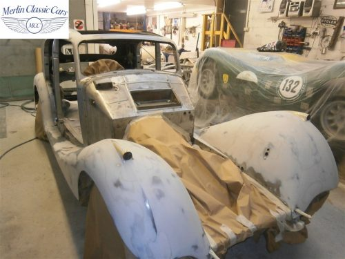 Jaguar SS Saloon Restoration 8