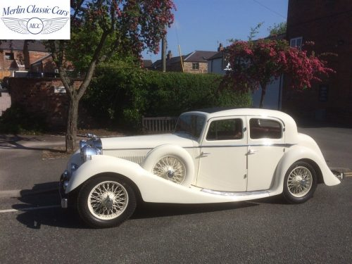 Jaguar SS Saloon Restoration 95