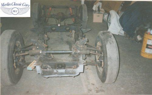 Jaguar XK140 Restoration 3