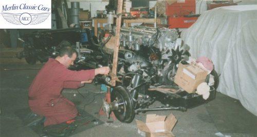 Jaguar XK140 Restoration 4