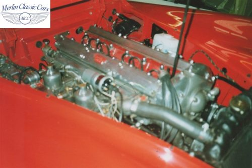 Jaguar XK140 Restoration 5