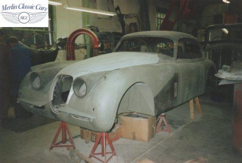 Jaguar XK150 Restoration 1