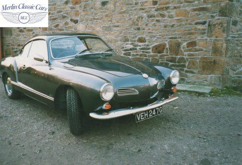 Karmann Ghia Restoration Photos 1