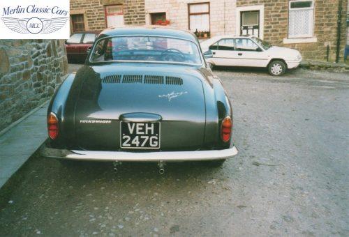 Karmann Ghia Restoration Photos 10