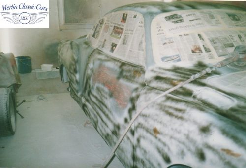 Karmann Ghia Restoration Photos 11