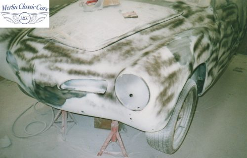 Karmann Ghia Restoration Photos 12