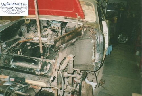 Karmann Ghia Restoration Photos 13