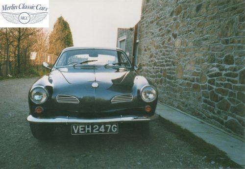 Karmann Ghia Restoration Photos 14