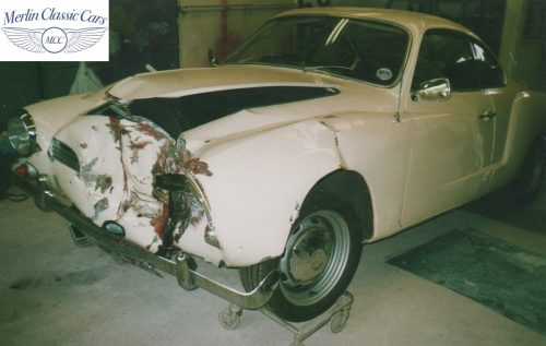 Karmann Ghia Restoration Photos 15