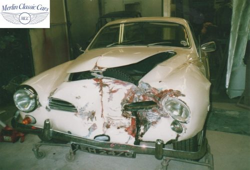 Karmann Ghia Restoration Photos 16