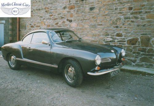 Karmann Ghia Restoration Photos 17