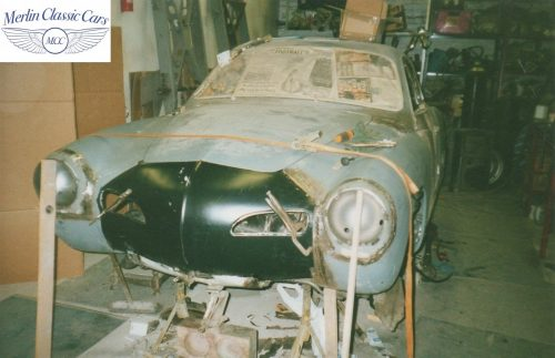 Karmann Ghia Restoration Photos 18