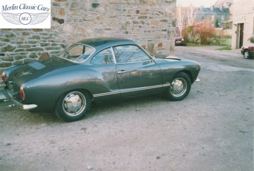 Karmann Ghia Restoration Photos 20