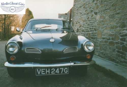 Karmann Ghia Restoration Photos 5
