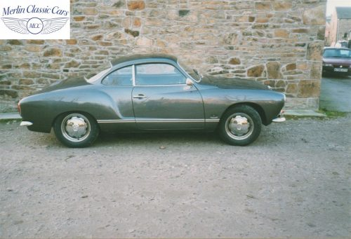 Karmann Ghia Restoration Photos 7