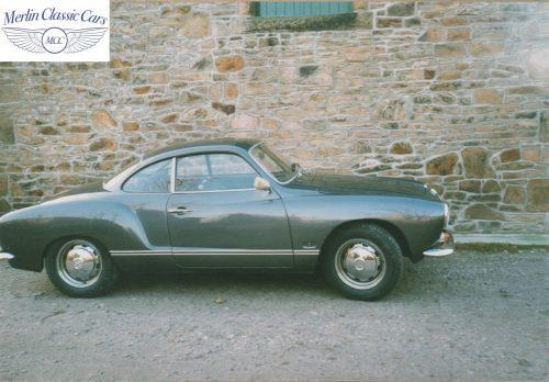 Karmann Ghia Restoration Photos 8